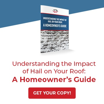 Understanding the impact of hail on your roof: A Homeowner's Guide