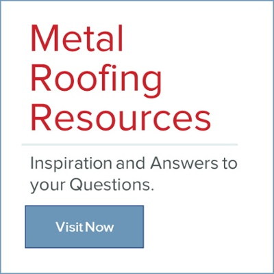 Metal Roofing Resources: Inspiration and answers to your questions