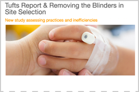 Tufts Report & Removing the Blinders in Site Selection