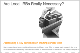 Are Local IRBs Really Necessary?