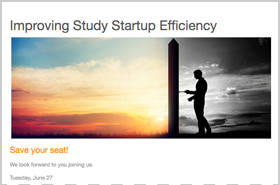 Improving Study Startup Efficiency