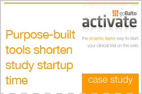 Case Study: Purpose-Built Tools Shorten Study Startup Time
