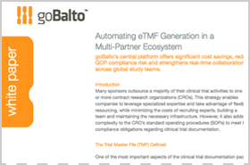 Whitepaper: Automating eTMF Generation In a Multi-Partner Ecosystem