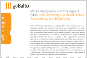 Whitepaper: More Collaboration with Investigative Sites