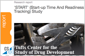 Tufts CSDD Research Report 2012