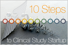 10 Steps to Clinical Study Startup