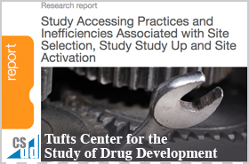 Tufts CSDD Research Report 2016