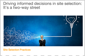 Driving Informed Decisions in Site Selection