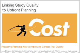 Linking Study Quality to Upfront Planning