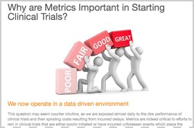Why are Metrics Important in Starting Clinical Trials?