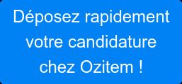Je souhaite participer à des projets passionnants avec Ozitem !