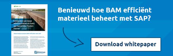 Benieuwd hoe BAM efficiënt materieel beheert met SAP?