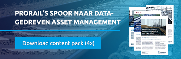 Download content pack (4x): ProRail's spoor naar datagedreven asset management >