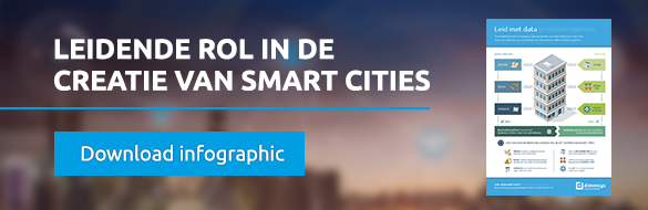 Infographic - Neem een leidende rol in de creatie van smart cities >