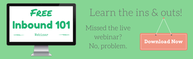 Sign Up For Free 101 Inbound Webinar