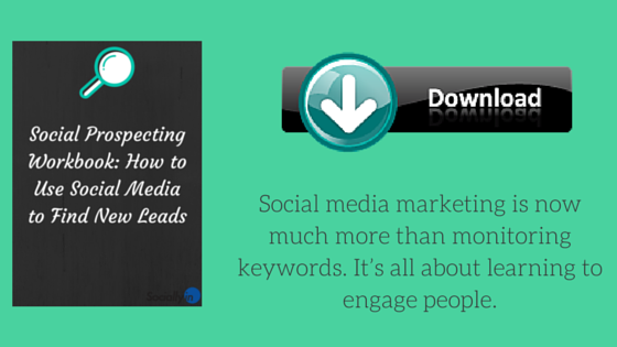 Social Prospecting Workbook CTA