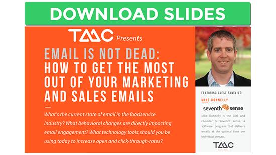 Email Marketing and Sales Webinar