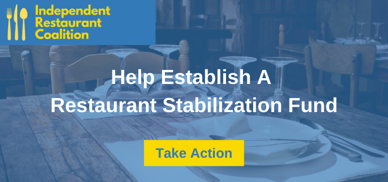 independent restaurant coalition cta