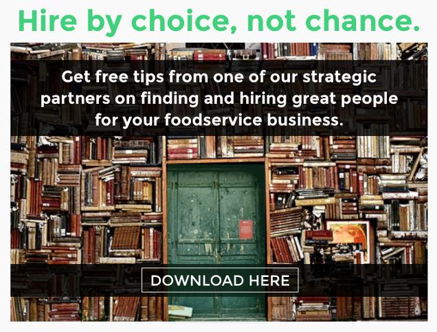 Miick Foodservice Recruiting and Hiring Tips CTA