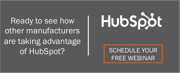 Your Free HubSpot Webinar for Manufacturers