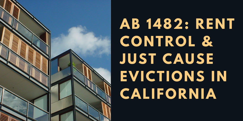 Rent Control and Just Cause Eviction Blog