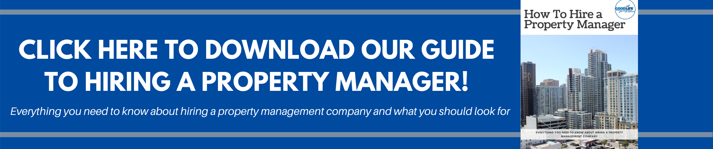 Guide to Hiring a Property Manager