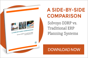 Solvoyo DDRP vs. Traditional ERP