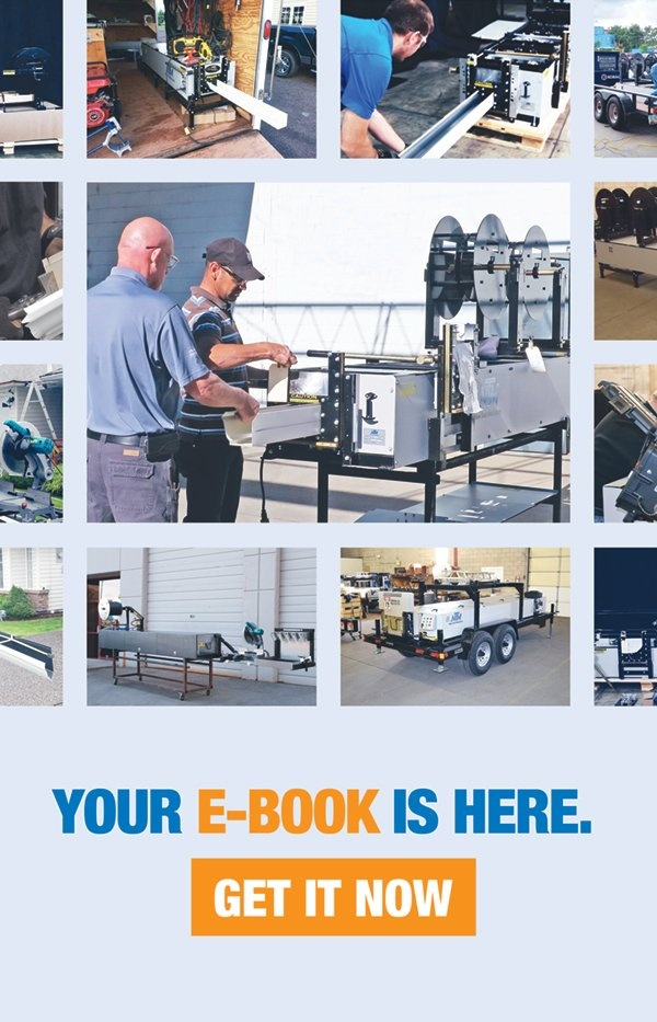 Your portable gutter machine e-book is here