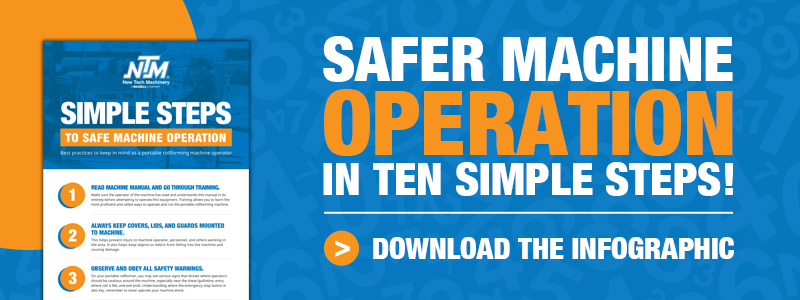 Download the Steps to Safe Machine Operation Infographic!