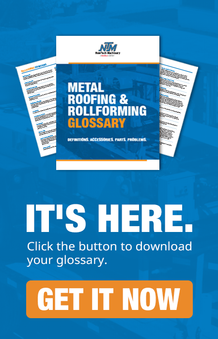 metal roofing glossary