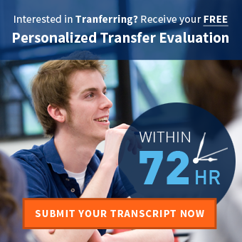 Receive your Free College Credit Transfer Evaluation