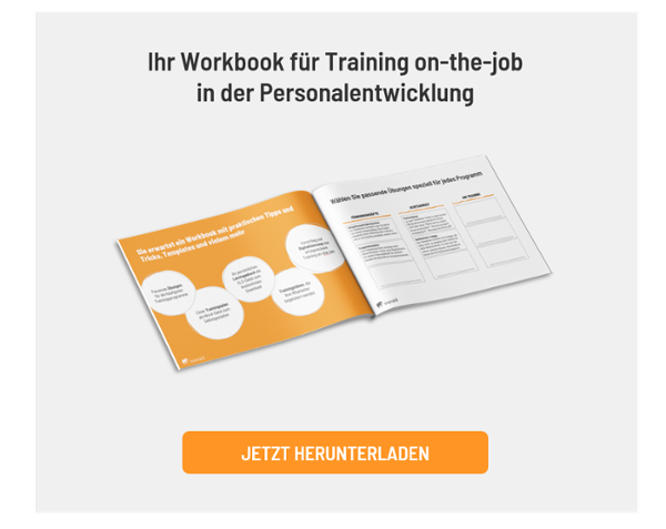 Workbook für Training on-the-job kostenlos downloaden