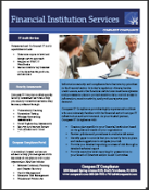 Financial Institution Services Brochure