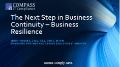 Business Resilience Webinar Presentation