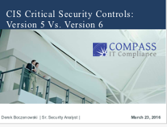 CIS Critical Security Controls Presentation