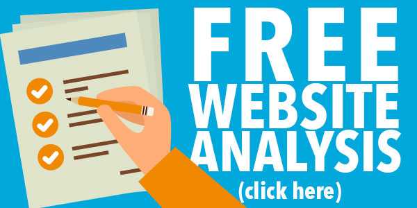 Get a free website analysis - click here now!