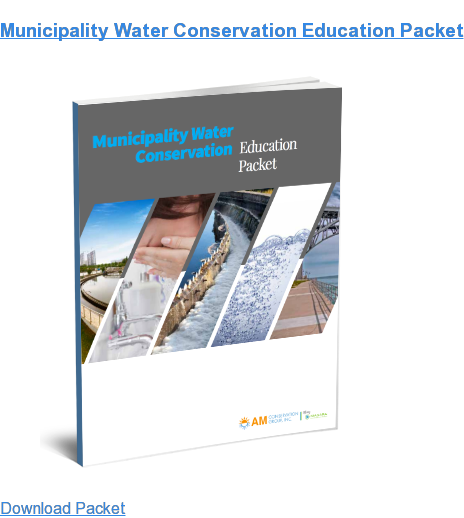 Municipality Water Conservation Education Packet Download Packet