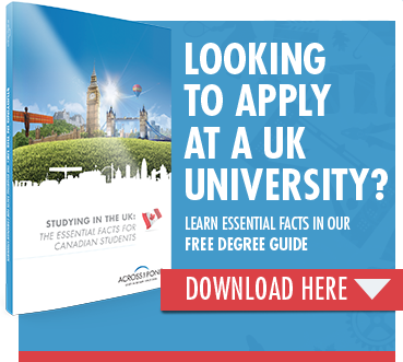 Studying in the UK: The essential facts for Canadian students