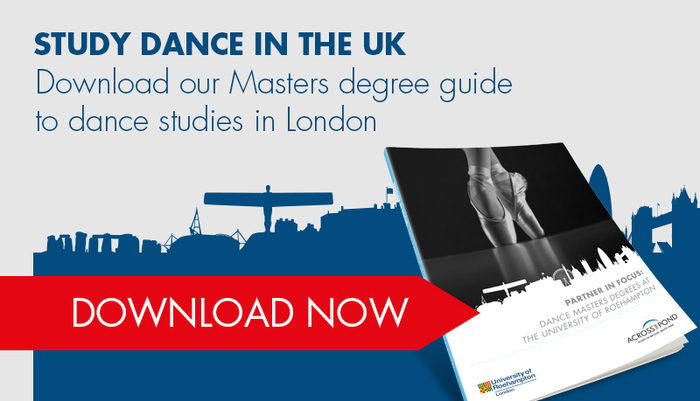Download the Dance Masters Degrees at The University of Roehampton
