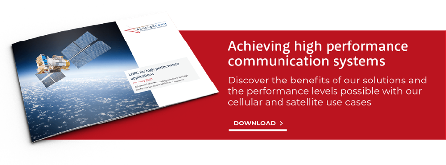 Achieving high performance communication systems with AccelerComm