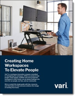 Creating Home Workspaces to Elevate People - Vari Brochure