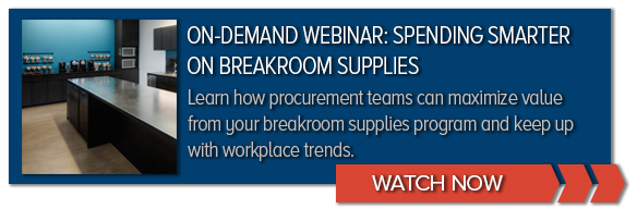 REGISTER NOW | Webinar: Spending Smarter on Breakroom Supplies