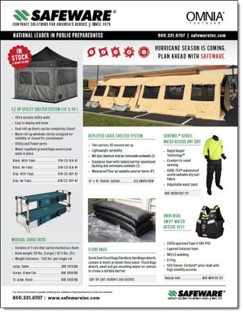 Safeware Hurricane Preparedness Solutions