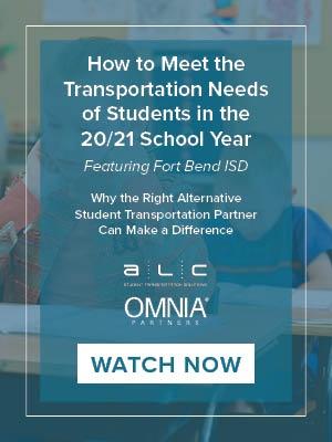 ALC Schools Webinar on How to Meet Students Transportation Needs