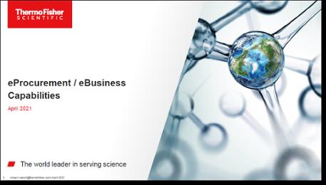 Fisher Scientific eProcurement/eBusiness Capabilities