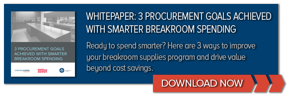 DOWNLOAD | 3 Procurement Goals Achieved With Smarter Breakroom Spending
