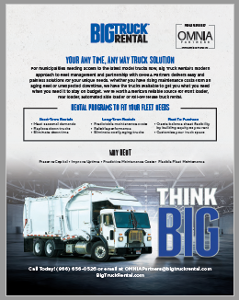 Big Truck Rental Flyer