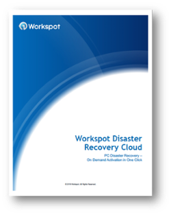 Workspot Disaster Recovery Cloud