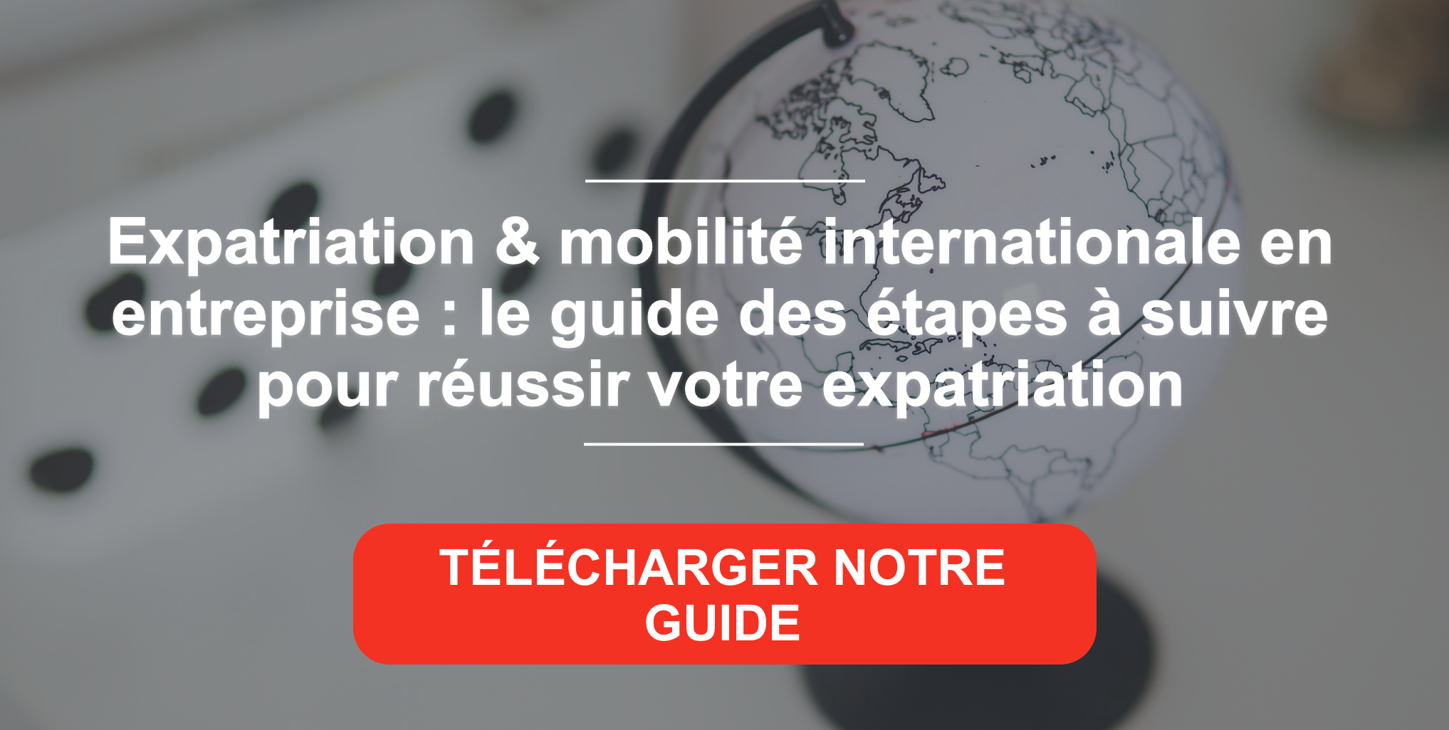 Guide : réussir son expatriation