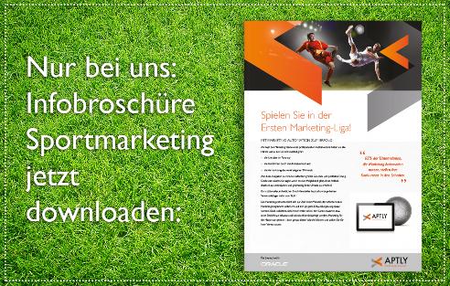 Nur bei uns: Infobroschüre Sportmarketing jetzt downloaden